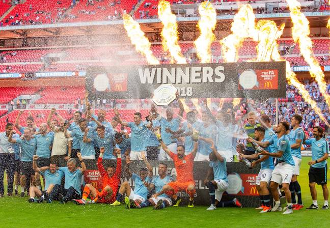 City will once again be in the Community Shield. Image: PA Images