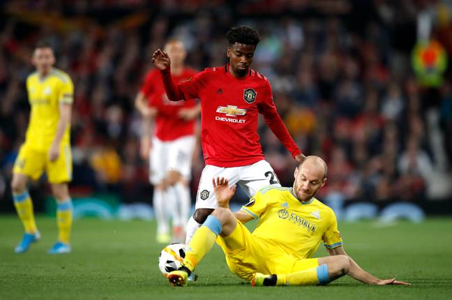 Gomes has made six appearances for United in all competitions this season. (Image Credit: PA)