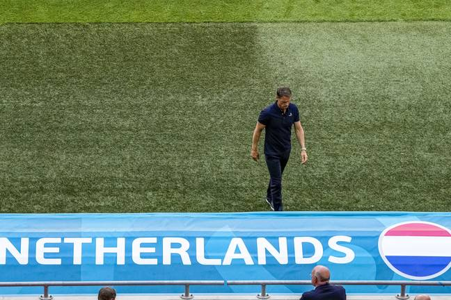 De Boer's management came into question as soon as Netherlands lost to Czech Republic. Image: PA Images