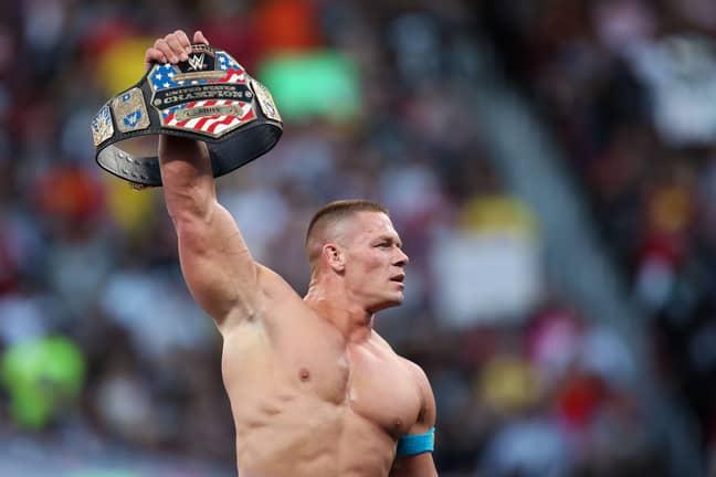 John Cena's a damn GOAT. Image: WWE
