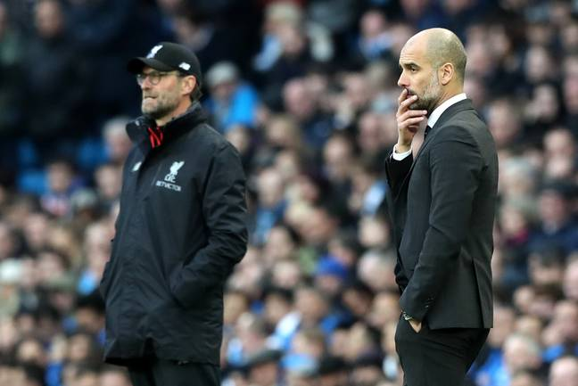 Klopp had the advantage over Guardiola in 2018 but will 2019 be the same? Image: PA Images