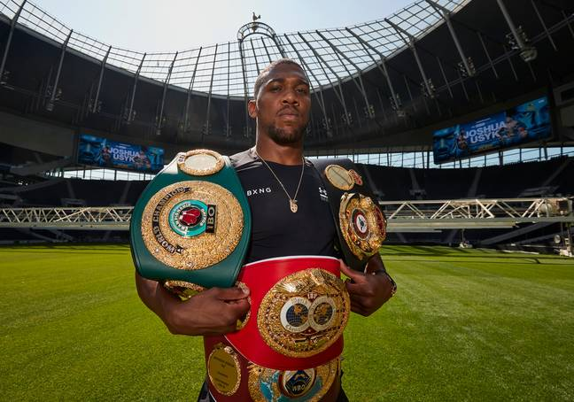 Anthony Joshua will put his IBF, WBA, WBO and IBO titles on the line against Oleksandr Usyk