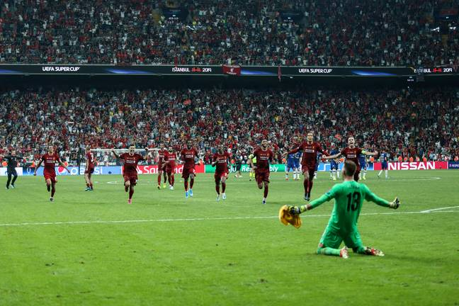 Adrian was the hero as Liverpool won the UEFA Super Cup in August. Image: PA Images
