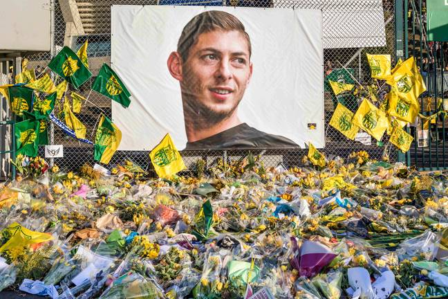 Fans flocked to football stadiums to pay their respects to the late footballer. Credit: PA