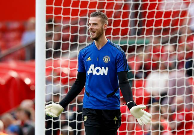 De Gea is the best United player according to the list. Image: PA Images
