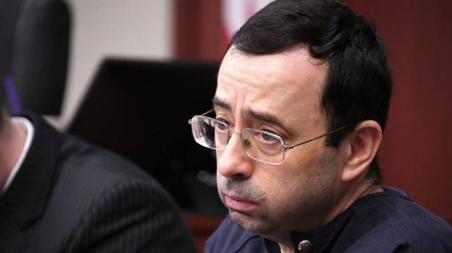 Disgraced former USA Gymnastics team doctor Larry Nassar. Credit: PA
