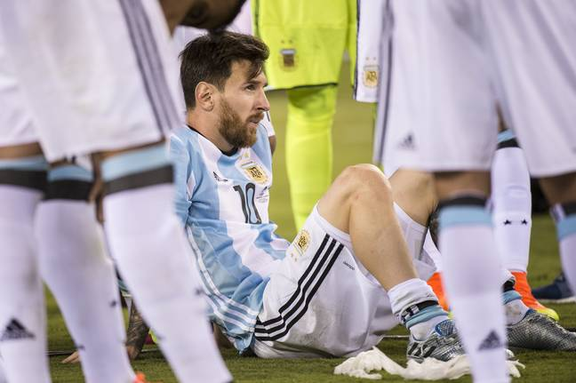 Copa America final defeats weighed heavy on Messi and he briefly retired from international football. Image: PA Images