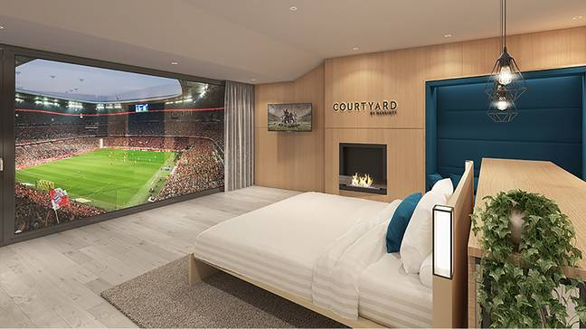The new signing at Bayern is bedding in well...Image: Marriott Hotels.