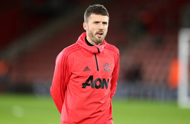 Carrick will take over training. Image: PA Images