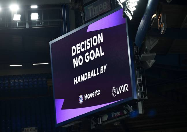 VAR will not be disallowing as many goals at the Euros. Image: PA Images