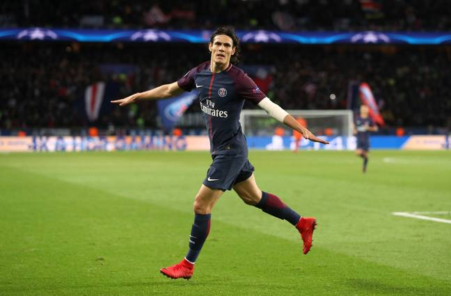 Cavani has been a consistent scorer throughout his career. Image: PA Images