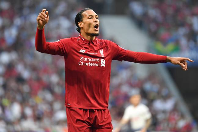 Virgil van Dijk is very likely to be at the back with Ramos (Image Credit: PA)
