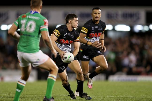 Nathan Cleary. Credit: PA