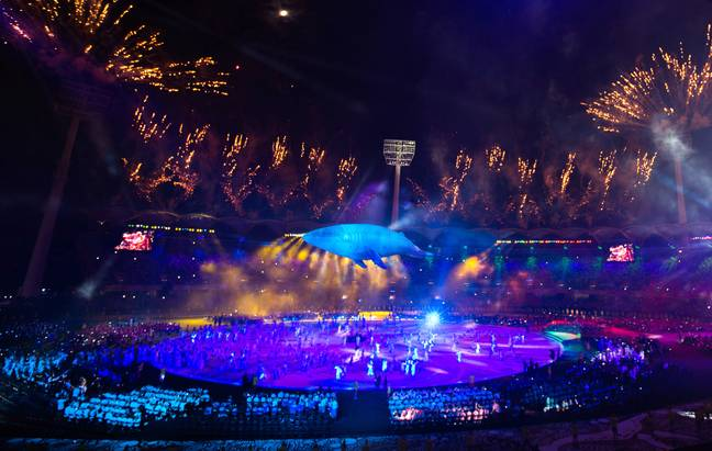Gold Coast 2018 Commonwealth Games opening ceremony. Credit: PA