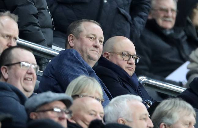 Mike Ashley is hoping to sell Newcastle soon. Image: PA Images
