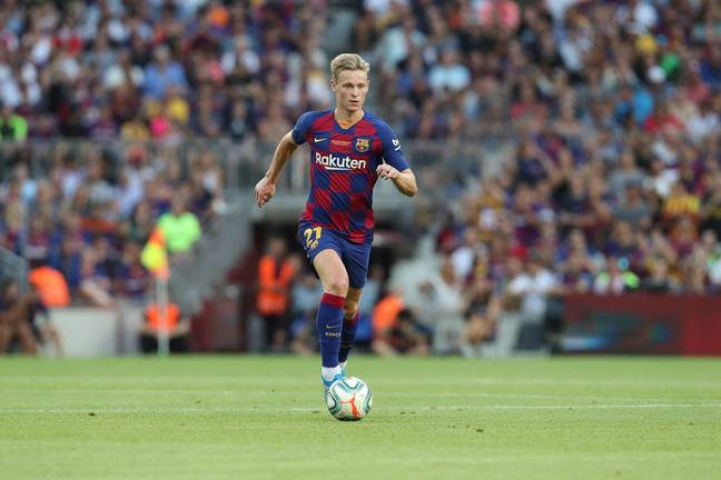 De Jong could be a huge star for Barca. Image: PA Images