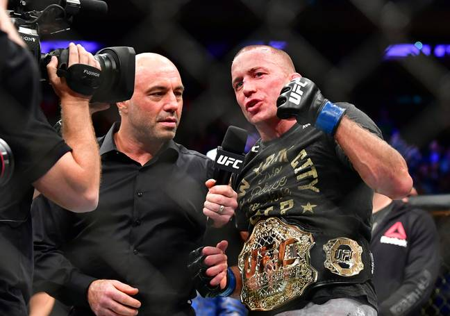 Former UFC welterweight and middleweight champion Georges St-Pierre. Credit: PA