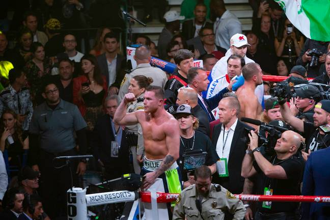 Alvarez beat Sergey Kovalev to win a title at a fourth weight in November last year. Image: PA Images