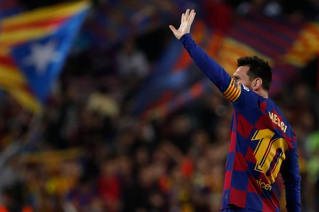 Messi dropped another masterclass on Tuesday night. (Image Credit: PA)