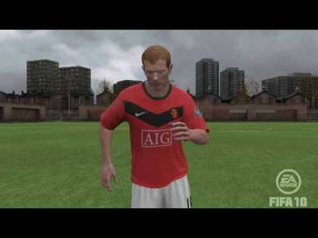 Scholes on the 2010 game. Image: YouTube