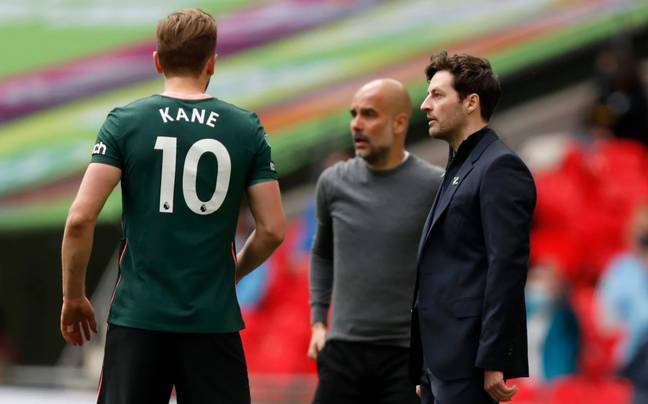 Pep Guardiola once controversially dubbed Spurs as the 'Harry Kane team'