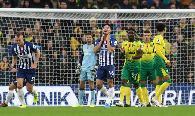 Brighton and Norwich are amongst the teams the split in thinking could effect. Image: PA Images
