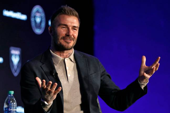 Beckham now owns an MLS club. Image: PA Images