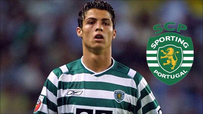 Ronaldo made his name at Manchester United but started at Sporting. Image: YouTube