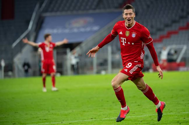 Lewandowski would be an incredible signing for City or Chelsea. Image: PA Images