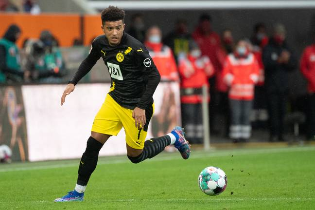 Sancho has played for Dortmund this season already but has missed the previous two games. Image: PA Images