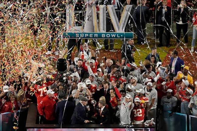 Kansas City Chiefs celebrate their Super Bowl victory