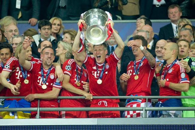 Bayern beat Borussia Dortmund in the most recent Wembley final. Image: PA Images