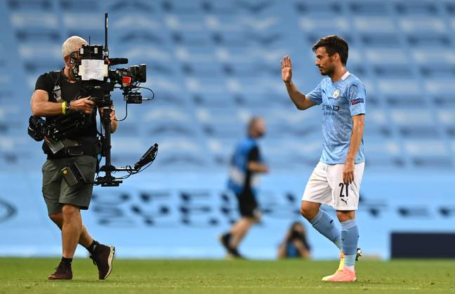 Silva waved goodbye to his City career after the Lyon game at the weekend. Image: PA Images
