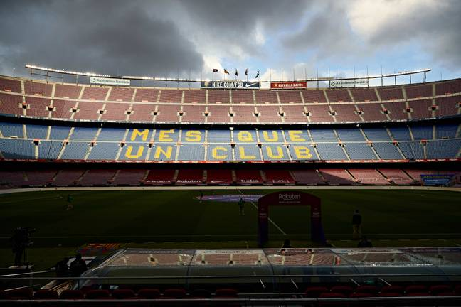 The Nou Camp could soon be named after the man who's scored most goals inside. Image: PA Images