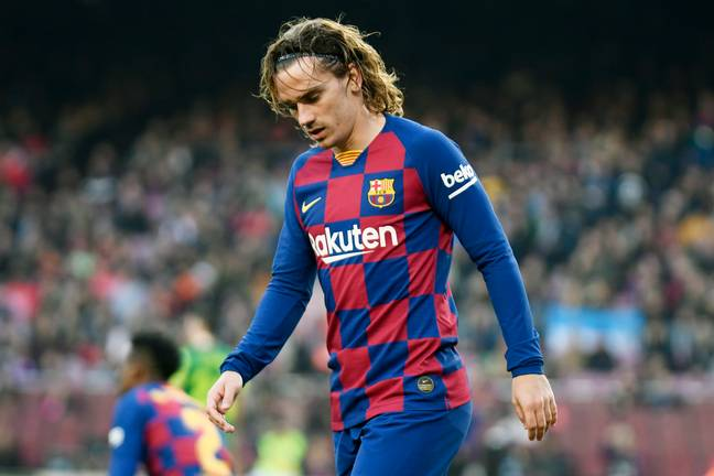 Griezmann has often cut a frustrated figure at Barcelona. Image: PA Images