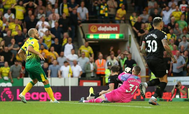 Teemu Pukki scored the third goal on a dream night for the newly-promoted side