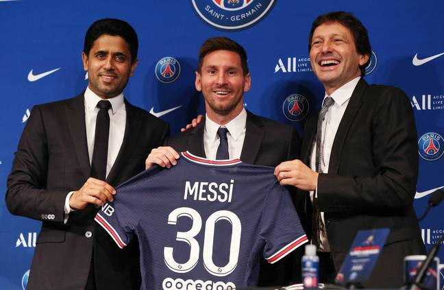 What if Messi had been in the blue and black of Inter for 15 years? Image: PA Images