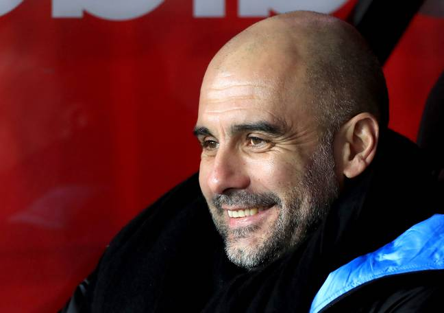 Pep will be on the touchline this weekend. Credit: PA
