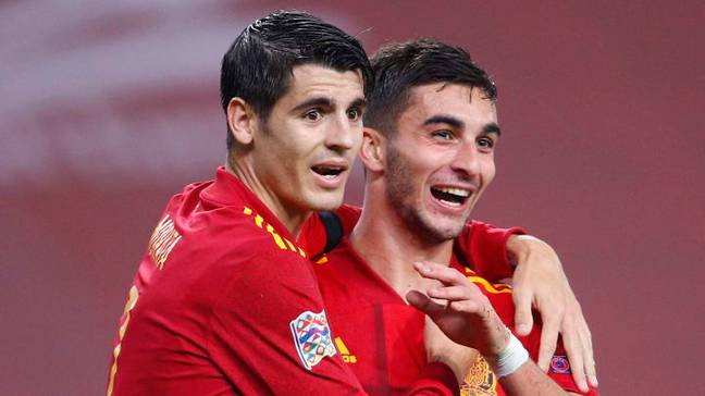 Alvaro Morata and Ferran Torres are likely to give the Croatian defence a headache this evening