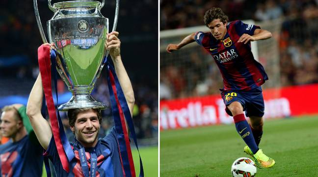 Sergi Roberto is a Champions League winner. Image: PA Images
