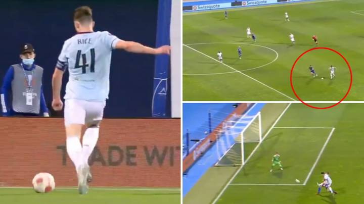 Declan Rice Runs All The Way From Inside His Own Half To Score Wonderful Solo Effort