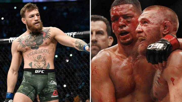 Conor McGregor Reacts To Nate Diaz Claiming He Is Out UFC 244 Main Event