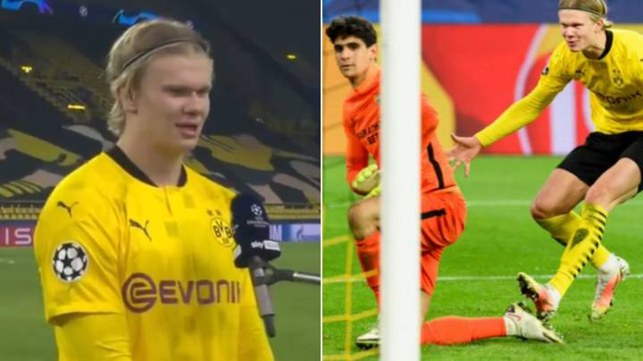 """Erling Haaland Says Sevilla Goalkeeper Bono """"Cheated"""" In Ruthlessly Cold Post-Match Interview"""