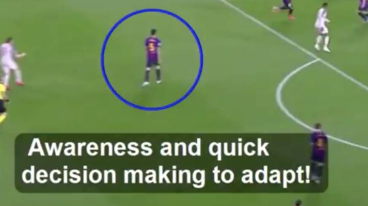 Analysis Of Sergio Busquets vs. Liverpool Gives You Insight Into His Incredible Footballing Brain