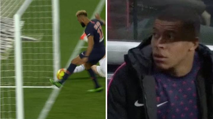 Kylian Mbappe's Reaction To Eric Choupo-Moting's 'Miss Of The Century' Is Priceless