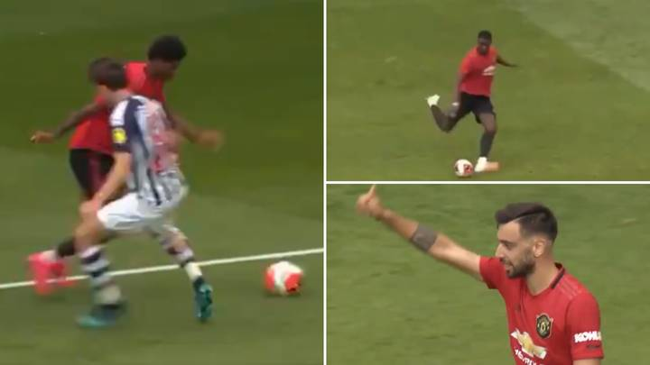 Highlights From Manchester United Vs West Brom Emerge - Marcus Rashford Looks Sensational