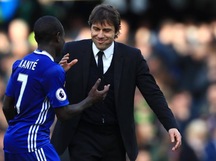 Antonio Conte Was Furious With N'Golo Kante During Victory Over Arsenal -  SPORTbible