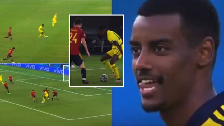 Alexander Isak's Stunning Individual Highlights Against Spain Show He Is The 'New Zlatan'
