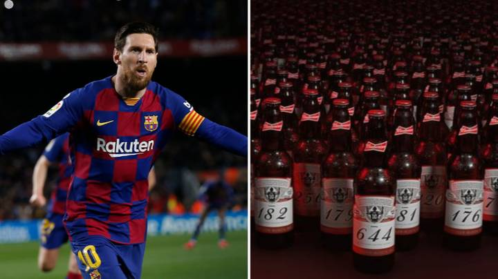 Budweiser Send Beer Out To Each Goalkeeper Lionel Messi Has Scored Past