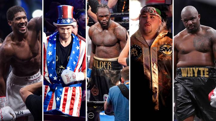 The Top Five Current Heavyweights In World Boxing Have Been Ranked